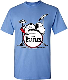 Ludwing The Beatles with Snoopy - playera divertida