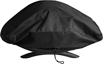 Unicook Waterproof Portable Grill Cover for Weber Q2000, Q200 Series and Baby Q Gas Grill, Compared to Weber 7111, All Weather Protection, Black