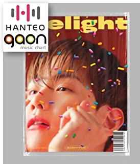 Baekhyun - Delight [Honey ver.] (2nd Mini Album) [Pre Order] CD+Booklet+Folded Poster+Others with Extra Decorative Sticker Set, Photocard Set