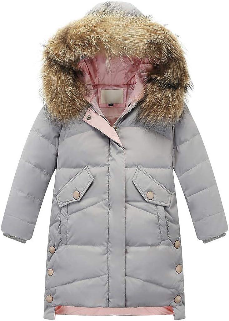 TOTAMALA Winter Down 1 year warranty Jacket Kids Girls Parka Cheap sale Faux Hooded Fur Dow