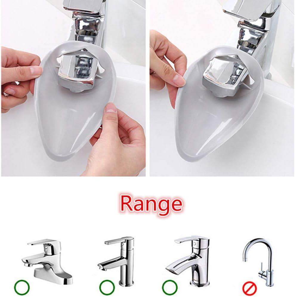 enfants enseignez /à vos enfants de bonnes habitudes dhygi/ène facilitant le lavage solution de lavage des mains dextension de poign/ée d/évier pour b/éb/és /Évier de rallonge de robinet pour enfants