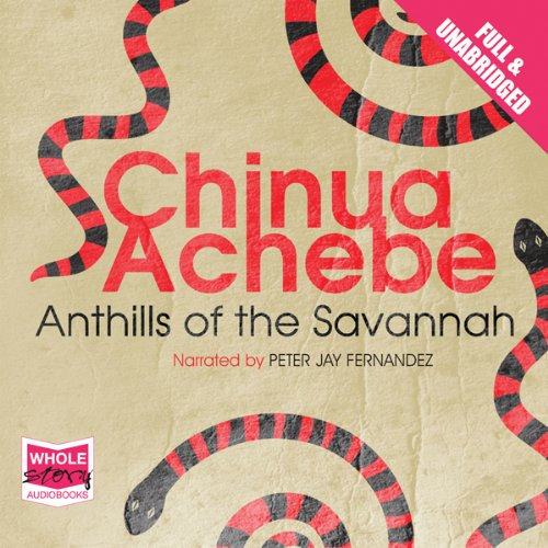 Anthills of the Savannah audiobook cover art