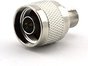 Maxmoral N Male to F Female Connector RF Coax Coaxial Adapter
