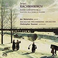 Rachmaninov: Piano Concerto No.3, Rhapsody on a Theme of Paganini by Jon Nakamatsu (2001-09-11)