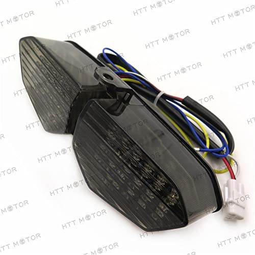 HTTMT- Taillight Integrated Turn Signals For Yamaha YZF R6 03-05 XTZ1200 12-