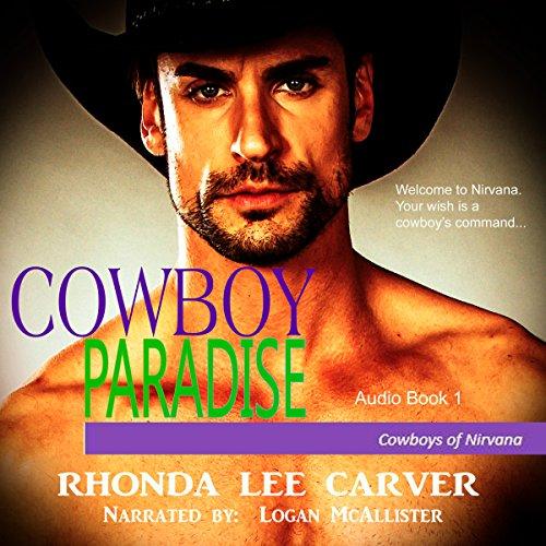 Cowboy Paradise audiobook cover art