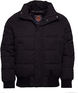 Superdry Men's Everest Bomber Jacket, Black