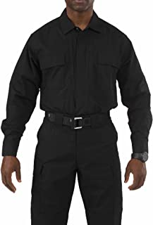 5.11 Tactical Men's Taclite Polyester-Cotton Ripstop Fabric TDU Long Sleeve Shirt, Style 72054