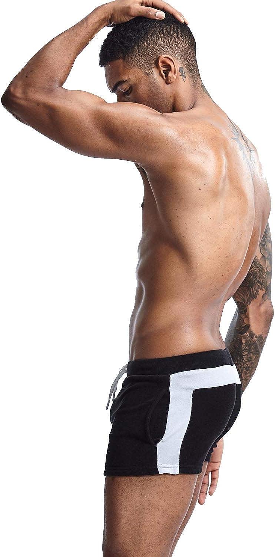 SEOBEAN Mens Low Rise Sports Furry Shorts Pile Training Smooth Regular dealer Max 76% OFF