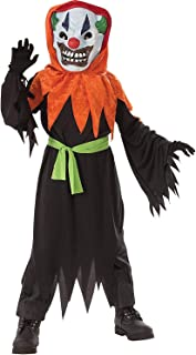 Rubie's Costume Co Crazy Clown Costume and Lite Up Mask, One, 882776