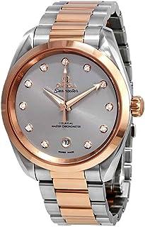 Omega - Seamaster Aqua Terra Reloj cronómetro automático con esfera gris diamante 220.20.38.20.56.002