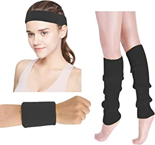 Women's 80s Outfit accessories Leg Warmers Gloves For 1980s Theme Party Supplies