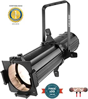 CHAUVET DJ EVE E-50Z, Black (EVEE50Z) includes Free Wireless Earbuds - Stereo Bluetooth In-ear and 1 Year Everything Music Extended Warranty
