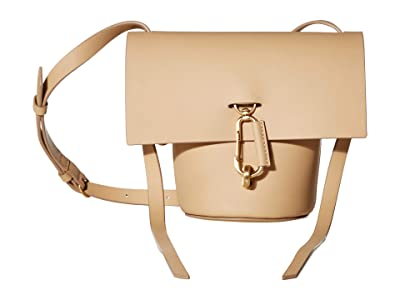 ZAC Zac Posen Belay Mini Crossbody Solid (Wheat) Handbags