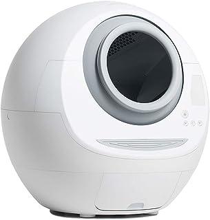 Adesign Automatic Litter Box Garbage Robot Silent Deodorant Pet Toilet Night Light Environmental Protection Material Disin...