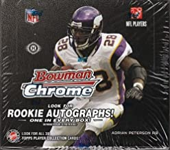 2008 Bowman Chrome Football Sealed Hobby Box