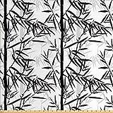 Lunarable Bambus-Stoff von The Yard, abstrakte
