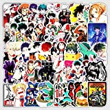 Japanese Anime My Hero Academic Sticker Laptop Hero Academic Character Decal 50Pcs