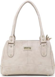 Shining Star Women's Cream Handbag