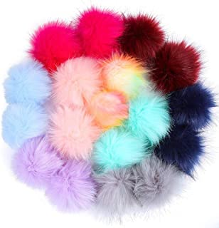 Easters Best Gift!!! Cathy Clara DIY Faux Fur Fluffy Pompom Ball for Hats
