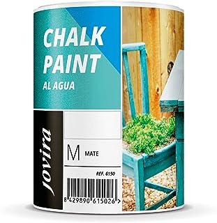 PINTURA EFECTO TIZACHALK PAINT AL AGUA MATE Renueva tus muebles con creatividad. (750ML BLANCO ANTIGUO)