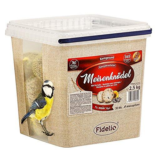Fidelio Comida para pájaros Silvestres con Red, 30 Unidades (2,5 kg)