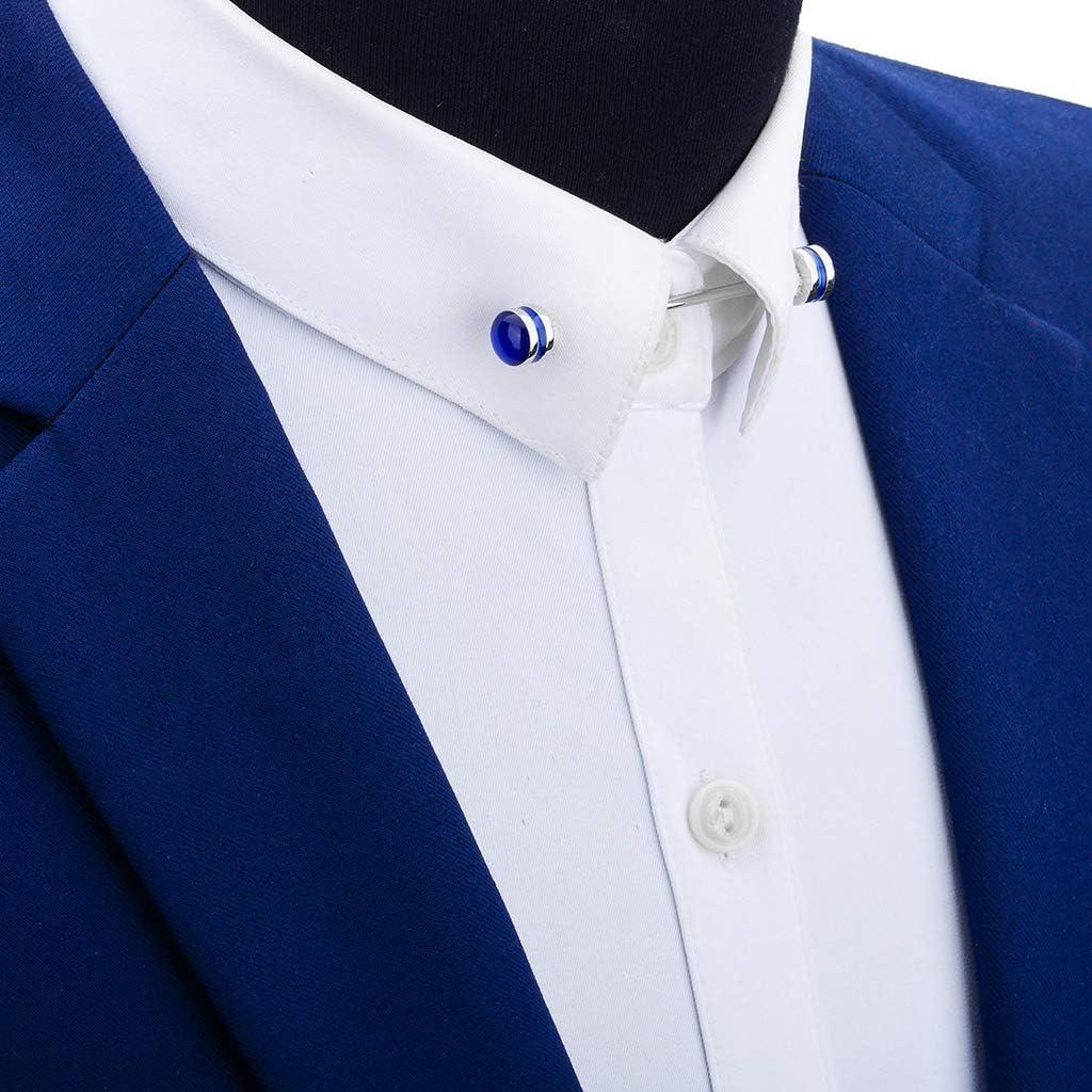 dailymall Shirt Collar Pin Men Collar Tie Shirt for Business Accessories