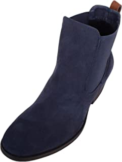 Absolute Footwear Womens Smart Casual Pull On Suede Ankle Chelsea Boots/Shoes