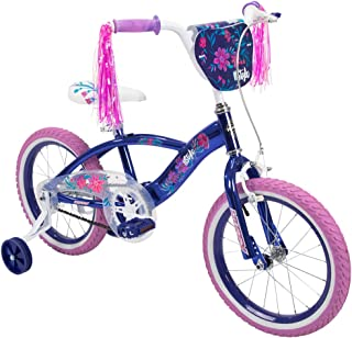 Huffy 儿童自行车 40.64 厘米和 50.8 厘米,带彩带和 BMX 钉子