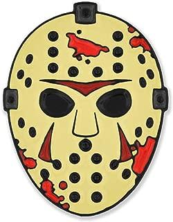 Hockey Mask Slasher Halloween Horror Movie Lover Enamel Lapel Pin