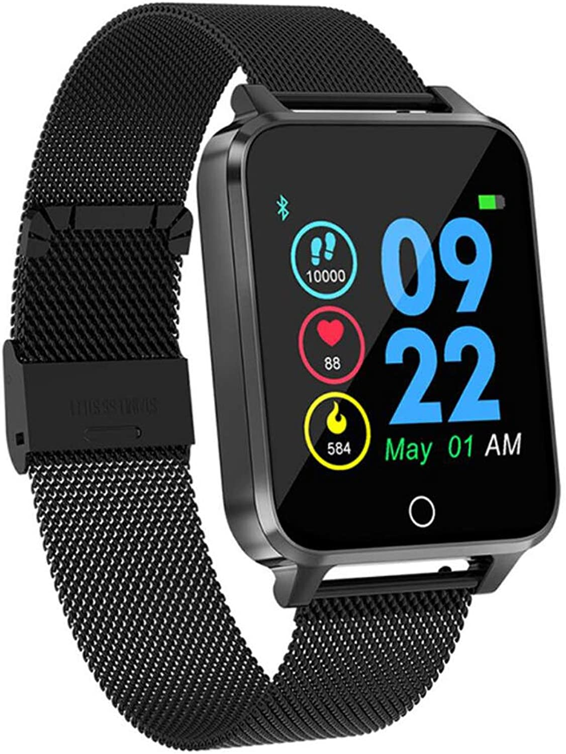 Heart Rate Monitor, Large Screen Smart Bracelet, Pedometer MultiSports Mode, Health Monitoring, Led Lighting, Sleep Monitoring, Touch Button