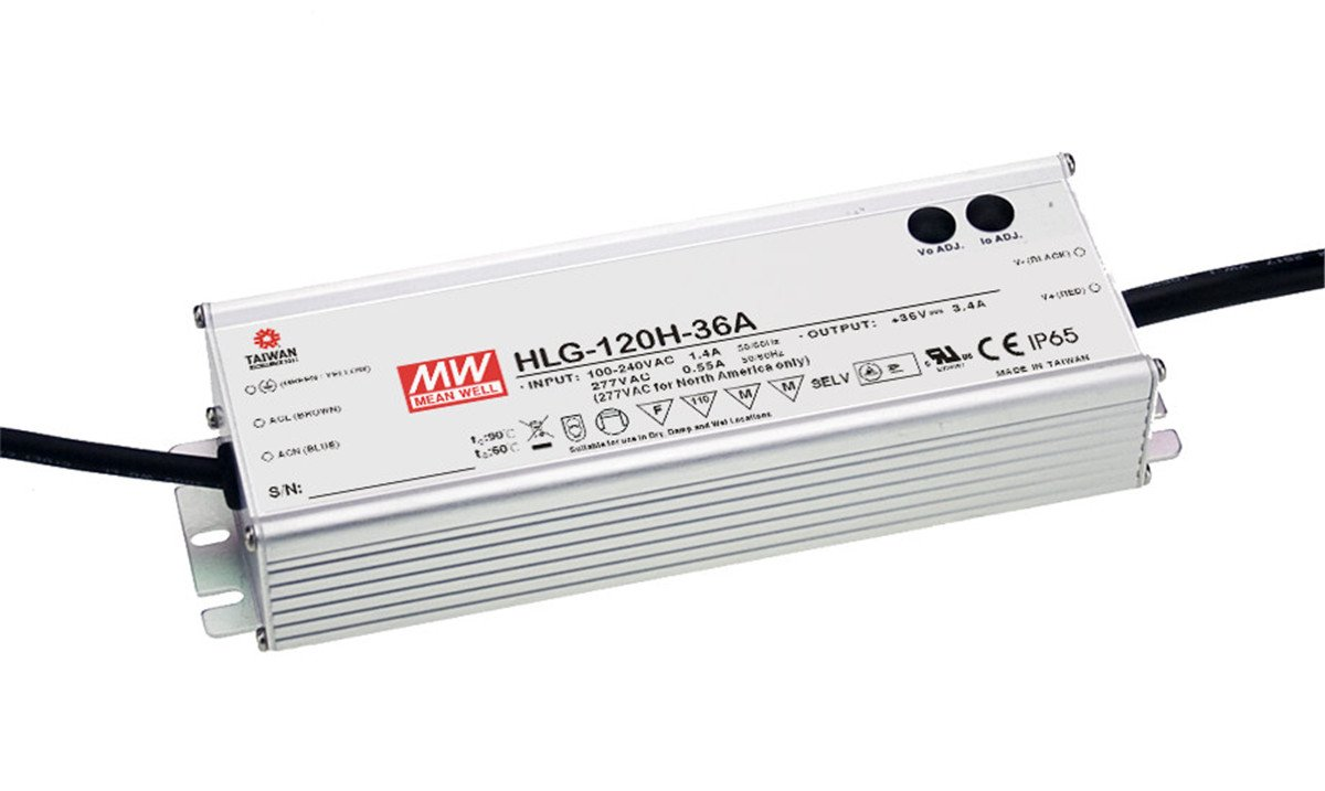 LED Driver Single Output Switching Power Supply, 120 Watt 42V @ 2.9A A Model, 120 Watt
