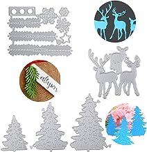 Simplelettering Stanzschablone//Cutting Dies Weihnachtsbaum Sterne Sternbaum Tannenbaum