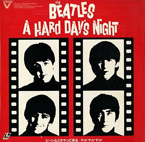 THE BEATLES A HARD DAY'S NIGHT ビートルズがやってくる ヤァ!ヤァ!ヤァ![ザ・ビートルズ][Laser Disc]