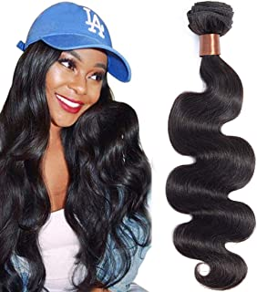 Angie Queen Hair Brazilian Virgin Body Wave One bundle 24 Inch Natural Black Color Unprocessed Brazilian Virgin Hair Body Wave Hair Weave Remy Wavy Wholesale Hair