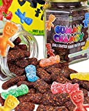 Premium Chili coated Sour Patch Kids | Gummy Chamoy | Mess Free | Handmade, Fresh & Delicious| Long Lasting Flavor | For Adults, Kids | 7oz Jar