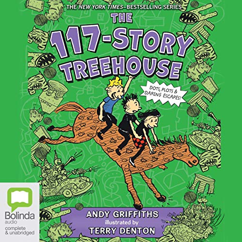 The 117-Story Treehouse audiobook cover art