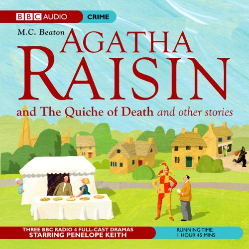 Couverture de Agatha Raisin: The Quiche of Death and the Vicious Vet (Dramatisation)