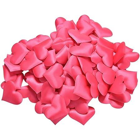 p s retail party confetti table decoration (red) 100 pieces- Multi color
