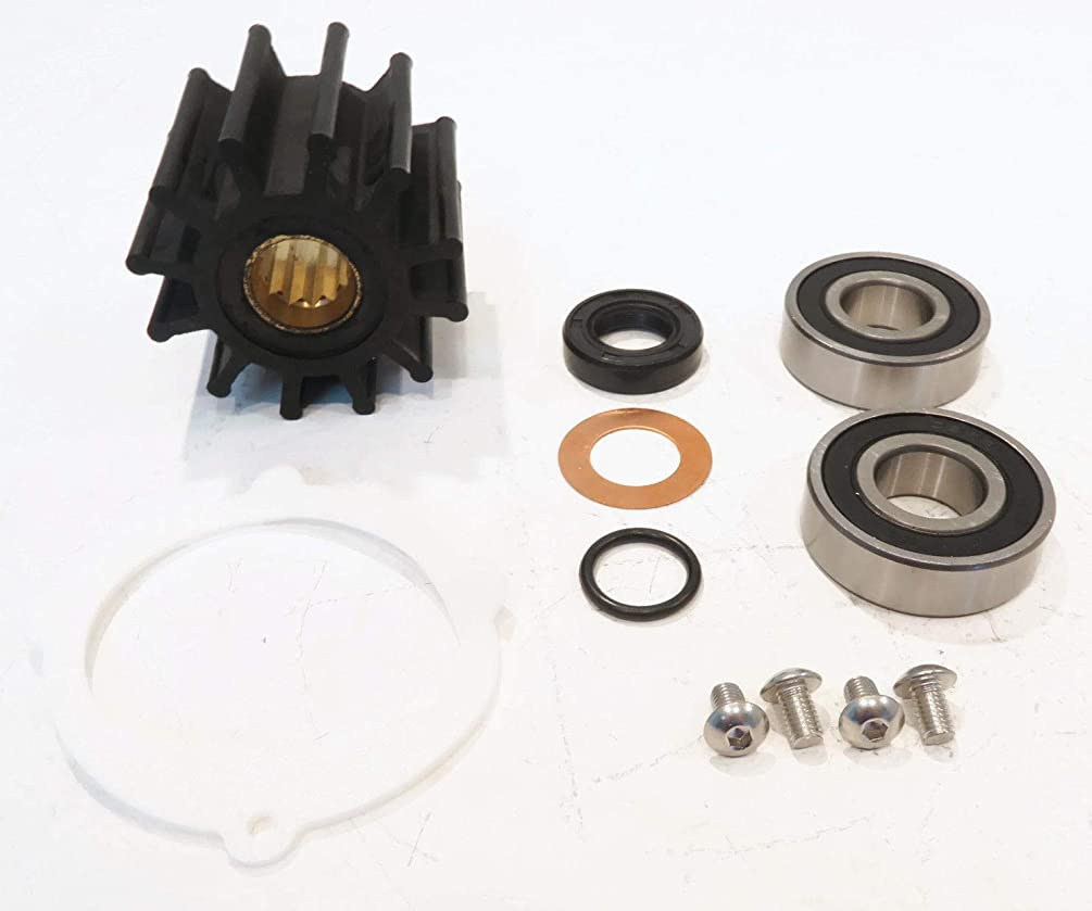 The ROP Shop   Water Pump Repair Kit for Jabsco 13554-0001, Mallory 9-45700, Inboard Engines