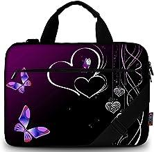 ATHG Laptop Sleeve Case Laptop Packs 3D Flying Butterflies Fallen Leaves Business Carrying Handbag Fit 13//15 Inch