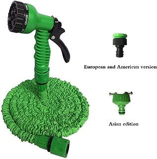 Easy-S-E-H Expandable Flexible Garden Water Hose to Watering with Spray Telescopic Water Gun,175Ft,Green