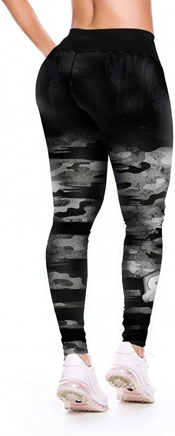 S2activewear Camo 2.0 Leggings Yoga Pants Compression Tights Spats by