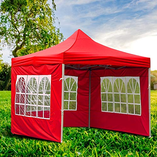 LYXMY Panel Lateral de glorieta, Carpa de Exterior Gazebo co