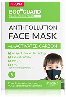 BodyGuard Anti- Pollution Face Mask (For Kids- Age 1 Yr+)