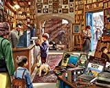 White Mountain Puzzles Old Book Store 1000Piece Jigsaw Puzzle