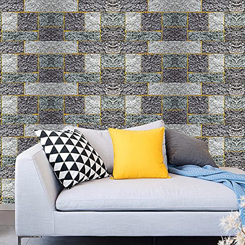 Papel pintado autoadhesivo gris oscuro papel de contacto DIY impermeable autoadhesivo decorativo papel pintado cocina encimera gabinetes cajón muebles pared 45x300cm