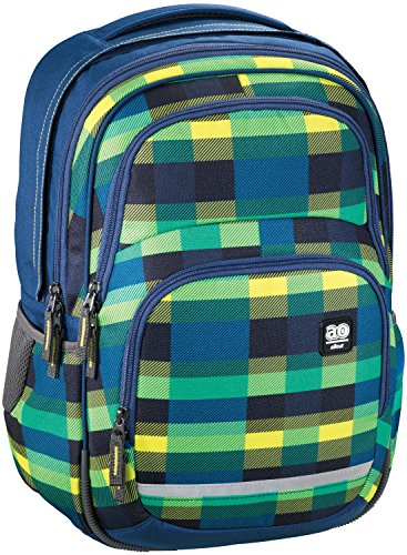 All Out blaby Summer Check Green Summer Check Sac à dos green