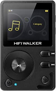 HIFI WALKER H2 High Resolution DAP Lossless Bluetooth FLAC WAV Digital Audio Player Portable with 16GB microsd Card and HD...