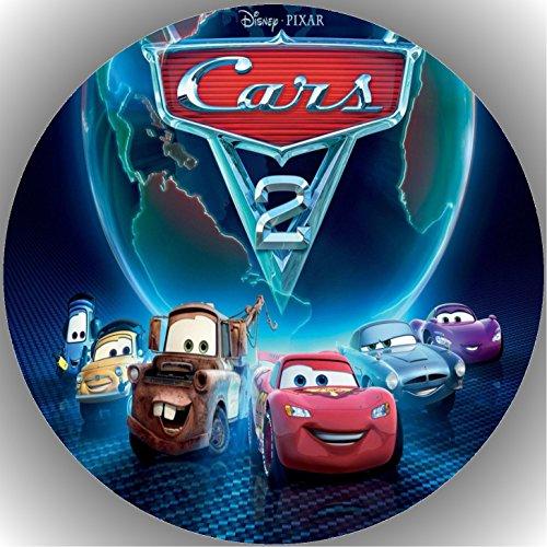 Fondant Tortenaufleger Tortenbild Geburtstag Disney's Pixar Cars T9